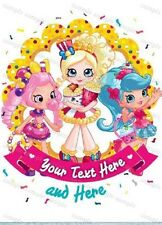 Shopkins personalized iron on transfer (choice of 1)