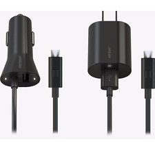 Original Verizon 2 Pack Rapid Wall Car Charger Fast Charge 6 FT Micro USB Cable