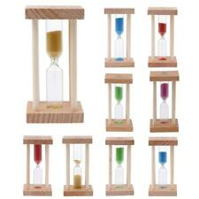 Wooden Hourglass Sandglass Sand Clock Timer for Kids Brushing Timing 1/3 Minutes