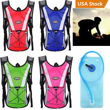 2L Outdoor Hiking Water Bladder Bag Backpack Hydration Packs Camelbak Pack MAX