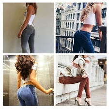 Womens Leggings Slim Jeggings Trousers Skinny Stretchy Denim Jeans Fashion Sexy