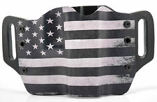 Black & White USA OWB Kydex Holster For Walther