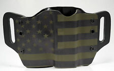 Green & Black USA OWB Kydex Holster For Walther