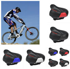 Wide Big Bum Bike Bicycle Gel Cruiser Extra Comfort Sporty Soft Pad Saddle ZM