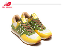 New Balance 574 Canvas Casual Trainning Shoes ML574XYG Green Yellow US mens sz