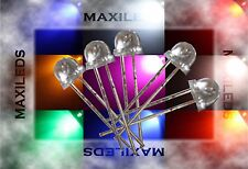 1000x 5mm LED Strawhat very bright LEDs Resistor 5mm