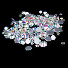 1440/144/288pcs AB DIY Flatback Rhinestones for Nail Art Phone Case Decor Astute