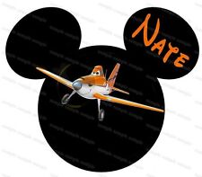 Disney Planes personalized iron on transfer (choice of 1)