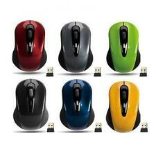 Mini Wireless Mouse Small Optical Laptop Usb 2 Pc 4ghz Ultra Slim Silver Mice