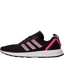 NEW adidas Originals Mens ZX Flux ADV Trainers Core Black/Core Black/Shock Pink