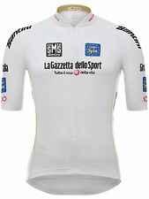Santini White 2017 Ditalia Best Young Rider Short Sleeved Cycling Jersey