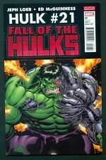 Hulk #21 McGuinness Variant 2nd Print Red Wolverine Deadpool Marvel Incredible