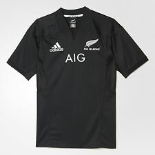 adidas Performance ALL BLACKS MEN'S RUGBY HOME JERSEY, Black - Size L, XL Or 2XL