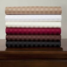 Best US Bedding Collection 1000 TC Egyptian Cotton Twin Size All Striped Colors