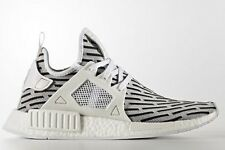 adidas Originals NMD-XR1 PRIMEKNIT MENS SHOES Rubber Outsole WHITE- US 4,5 Or 6