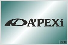 APEXI - sticker on car - HIGH QUALITY - different colors - №0086