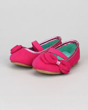 Jelly Beans Paroya New Girl Suede Bow Mary Jane Ballerina Flat (Toddler)