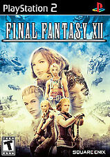 Final Fantasy XII 12 Twelve (Sony PlayStation 2, 2006 Square) - Black Label PS2