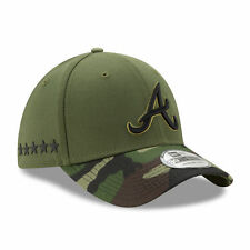 Atlanta Braves New Era 2017 Memorial Day  39THIRTY Flex Hat - Green/Camo