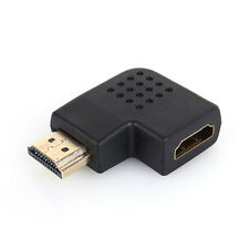 1PCS 1080P Right/Left Angle 90 Degree Male To Female HDMI HDTV Adapter Converter