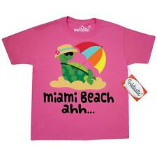 Inktastic Miami Beach Florida Youth T-Shirt Cute City Travel Ocean Vacation Tee