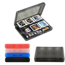 28 in 1 Game Card Case Holder Cartridge Storage Box for Nintendo 3DS DSL Fast