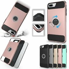 Hybrid Shockproof Kickstand Slim Armor Hard Cover Case For Apple iPhone 7/7 Plus