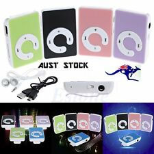 MINI CLIP MP3 MUSIC PLAYER SUPPORT 32GB MICRO TF SD CARD+EARPHONE+USB CHARGER