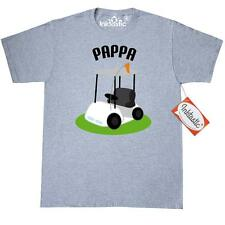 Inktastic Pappa Golf Cart Golfing T-Shirt Grandfather Golfer Fathers Day Gift