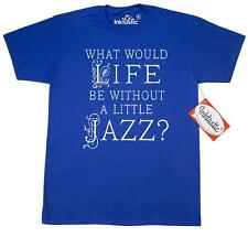 Inktastic Jazz Music Lover Quote T-Shirt Musical Musician Band Fan Gift What Be
