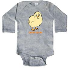 Inktastic Chicks Dig Me Long Sleeve Creeper Chicken Chick Cute Funny Monkey Tax