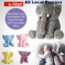 Soft Plush Stuff Toys Baby Children Gift Long Nose Elephant Doll Lumbar Pillow S
