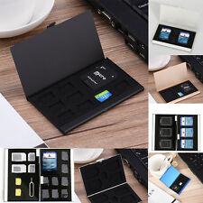 Metal Memory Card Storage Case Protective Holder Box For CF TF SD SIM Card l