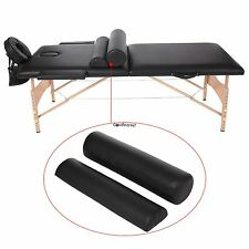 Homdox 2 Fold Massage Table Portable Facial Bed W/ Sheet Bolsters Carry Case