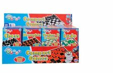 Magnetic Pocket Mini Travel Board Games Snakes & Ladders, Ludo, Chess, Draughts!