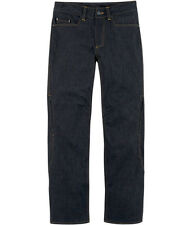 Icon Insulated Denim Aramid Motorcycle Motorbike Trousers Jeans All Sizes
