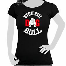 Ladies Ladies' T-Shirt Cotton Pressure Dog English Bulldog