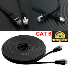 LOT 3ft 6ft 10ft 30ft Category 6 Cat6 Shielded Network Ethernet Patch Cable Cord