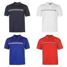 Lonsdale 2 Stripe Polo Shirt Mens Stylish Look T Shirt Casual Top Sizes S - XXXL