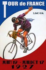 Tour de France 1927 Bicycle Bike Cycle Race METAL TIN SIGN POSTER WALL PLAQUE