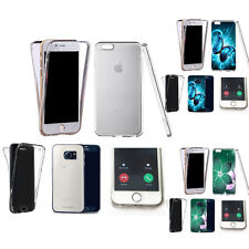 360° Silicone gel shockproof Case Cover for many mobiles -design ref zq214 clear