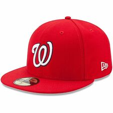New Era Washington Nationals 59Fifty MLB Authentic Game Cap(AUTH WASNAT GM 2017)