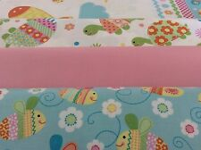 "Northcott Baby Fabric Series ""Bundle of Love"" All over and panel"