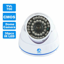 Mini Dome Surveillance Camera 700TVL 36Pcs IR LED Home Security CCTV Cameras Kit