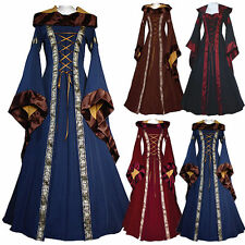 Medieval Hooded Womens Vintage Victorian Renaissance GOTHIC Dress^Costume Coaply
