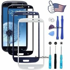 For Samsung Galaxy S3 i9300 Front Outer Lens Glass Touch Screen Replace+Adhesive