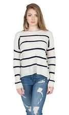 Velvet by Graham and Spencer Apolla Crewneck Striped Sweater