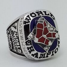 Boston Red Sox 2007 World Series Championship Copper ring Size 8-14 Solid Gift