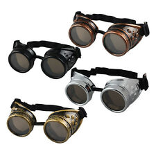 Steampunk Goggles Vintage Cosplay Welding Us Glasses Cyber Vintage Gothic Style