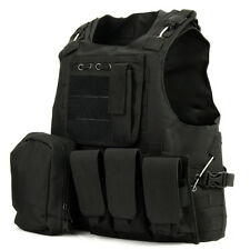 Tactical Hunting Vest Wargame Body Armor Sports Wear Outdoor Equipment Chest Rig